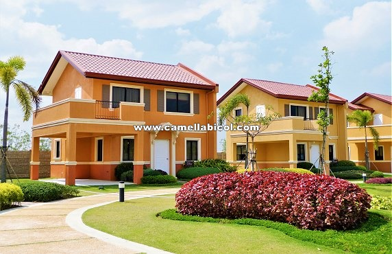 Camella Bicol House and Lot for Sale in Bicol Philippines