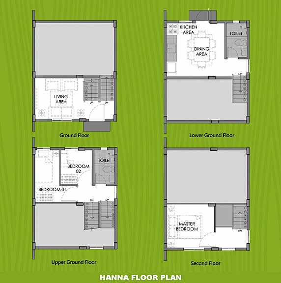 Hanna Floor Plan House and Lot in Bicol