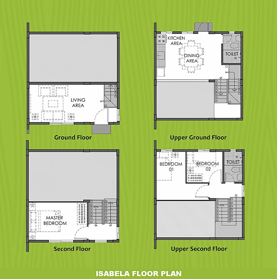Isabela Floor Plan House and Lot in Bicol