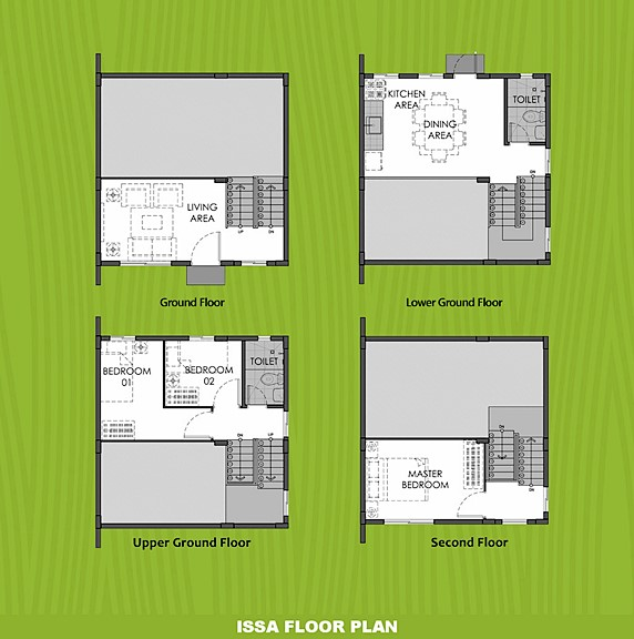Issa Floor Plan House and Lot in Bicol