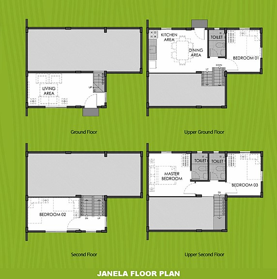 Janela Floor Plan House and Lot in Bicol
