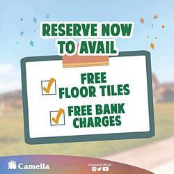 Promo for Camella Bicol.